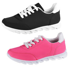 Ladies Trainers Neon Dream Pink and Black