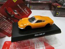 Kyosho - Ferrari 7 Collection - Dino 246 GT - Orange Scale 1/64 - Mini Car - D10