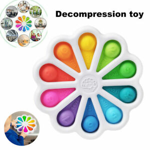 Fidget Toy Simple Dimple Digits Sensory Stress Relief Kid Early Educational Baby