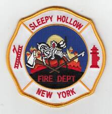 New York Sleepy Hollow Fire Dept Headless Horseman Patch