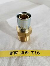 "New Parker 10191N-12-12C 7040 SL3/4"" Male Threaded Brass Hose Fitting"