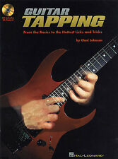Chad Johnson Guitar Tapping Learn to Play Beginner TAB Music Book & CD