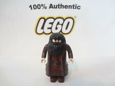 Authentic LEGO Harry Potter Minifigure Hagrid Dark Brown Coat 4738 4865 10217