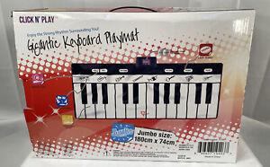Giant Keyboard Playmat 24 Keys Piano Gigantic Electronic Keyboard Click N' Play
