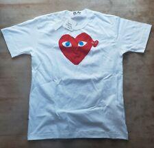 COMME DES GARCONS PLAY Print Heart Tee Mens Medium Orig $123.00 NWT