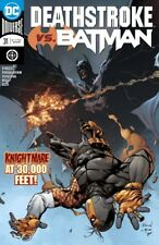 DEATHSTROKE #31 DC COMICS VS BATMAN PT 2 HENRIQUES ROCHA PAGULAYAN 5218