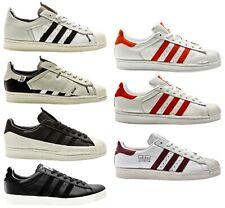 Adidas Superstar 80s Clean Blanco Hombre Zapatillas de Deporte Hombre Zapatos