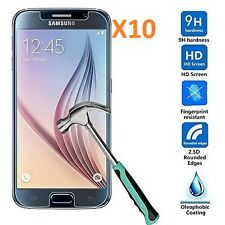 10XTempered Glass Screen Protector for Samsung Galaxy S6 0.3mm 2.5D Oleo-phobic