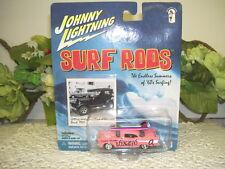 JOHNNY LIGHTNING  '57 CHEVY SURF RODS PALOS VERDE VIXENS PLAYING MANTIS 2000 NIP