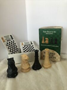 Cannon And Leopard - Modern  Chess Variant Kit 4 Pieces By Frank Camaratta Jr