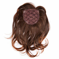 40CM Hairpiece/Toupee Replacement Women Top Synthetic Hair Topper Light Brown