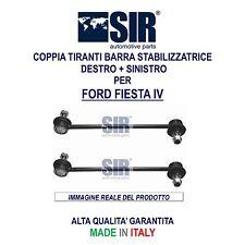 2 BIELLETTE / TIRANTI BARRA STABILIZZATRICE FORD FIESTA IV 1.0 1.2 1.3 1.4 1.6