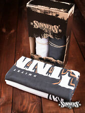 Harley Davidson Biker Set of Towels SINNER's BONES