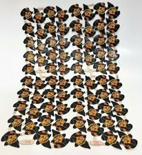 Vintage Halloween Germany  Witch Die Un-Cut 76 pc. Full Sheet