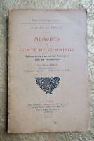 Mémoires du Comte de Comminge. Petite Bibliothèque Surannée