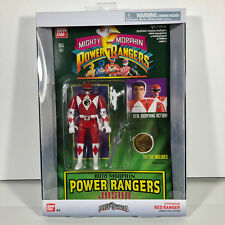 MMPR RED Ranger AUTO Morphin Legacy Collection Mighty Morphin Power Rangers NIB