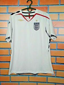 England Jersey Women2007 2009 Size XL Home Shirt Football Soccer Umbro