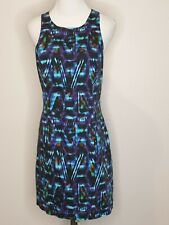 Forever New Abstract Sheath Sleeveless Office Career Dress / Size 14