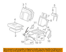 Hummer GM OEM 03-09 H2 Third Row Seat-Release Cable 12478354