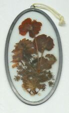 """Hanging Hand Crafted Glass Pewter Frame > Lasting Impressions (8-12"""" x 4-3/4"""")"""