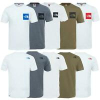The North Face Mens TNF Short Sleeve Tee Cotton T Shirt Crew Neck Top
