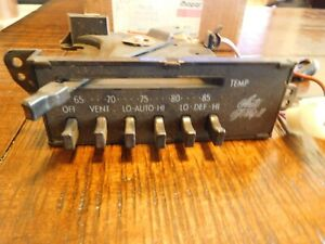 1974 1975 Dodge Chrysler Imperial AC Heater Switch Unit Control 3846079 3846084