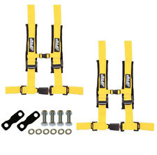 "PRP 4 Point 2"" Harness Seat Belts Automotive Latch Hardware Kit Yellow YXZ 1000R"