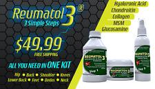 Reumatol3 Anti-Arthritis & Pain 3 Steps Treatment