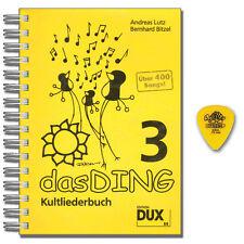 La cosa 3 culto CANZONIERE-con Dunlop manderebbe-DUX Editrice-d88 - 9783868490886