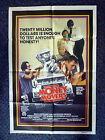 MONEY MOVERS Original 1970s One Sheet Movie Poster Tony Bonner, Bryan Brown
