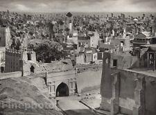 1928 Original INDIA Hyderabad Fort Architecture Cityscape Photo Art By HURLIMANN