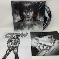 The Crow Comic Accompaniment Vinyl Record LP Black & White Swirl Variant