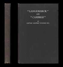 LANGEMARCK and CAMBRAI War Narrative 1914-18 3rd YPRES Shropshire Light Infantry