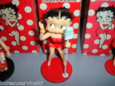FIGURINE NEUVE EN RESINE - KING FEATURES SYNDICATE - BETTY BOOP MICRO