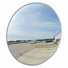 "Outdoor Acrylic Convex Security Mirror Traffic Safety 36"" Made In The Usa New"
