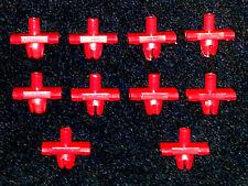 Mopar Chrysler Jeep Belt Side Molding Moulding Rivet Trim Clip Clips 10pcs H