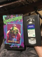 Goosebumps The Haunted Mask Rare Official VHS Tape R.L. Stine