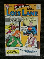 Superman's Girlfriend Lois Lane #56  April 1965  So Nice!!