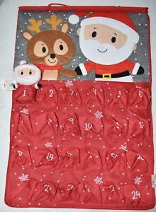 Hallmark ITTY BITTYS Santa Christmas Countdown Calendar