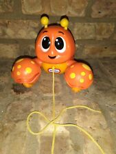 Little Tikes Pull 'N Chatter Lobster Orange Colorful Toddler Walking Toy