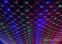 2Mx3M 200 LED Color Web Net Fairy Light For Christmas Wedding Party Garden Xmas