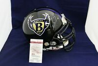 Ray Lewis Signed Auto F/S Ravens Proline Helmet W/RC Facemask  - JSA WP178246