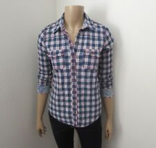 Hollister Womens Plaid Button Up Long Sleeve Shirt Size Small