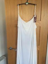 M & S Ladies Cooling Full Slip White Size 26 BNWT RRP £20