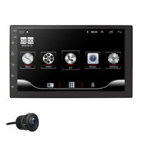 "7"" 2DIN Android 9.0 Car Stereo MP5 Player FM Radio GPS WiFi Bluetooth Head Unit"