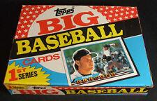 1989 Topps BIG Baseball Series 1 Box 36 packs