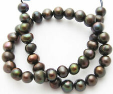 Brown Round 11 - 11.9 mm Size Jewellery Beads