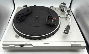 Vintage Technics SL-D1 Direct Drive Automatic Turntable Record Player - Working
