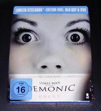 DEMONIC HAUS DES HORRORES LIMITADA STEELBOOK EDICIÓN BLU-RAY + DVD