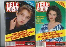 LOT Télé Poche année 1987: lot 2